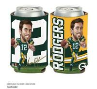 Aaron Rodgers Green Bay Packers Logo Dosenkühler NFL Football Can Cooler
