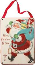 """NEW 14.5"""" Primitives By Kathy Merry Christmas Wooden Countdown 32275"""