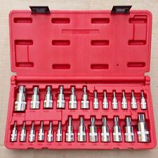 Mac Tools 25-PC Torx and Torx Plus Driver Set STTP25B New Free Shipping Star Bit