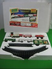 Santa's Musical Express Train Set Bright Electronic Music and Sounds