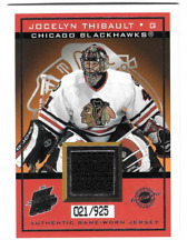 2003-04 Pacific Quest for the Cup Jerseys #4 Jocelyn Thibault 21/925 (ref9735)