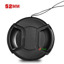 52mm Snap clips Lens Cap Cover for Sony, Nikon, Pentax, Panasonic,Canon, Fuji UK