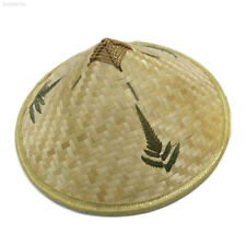 c2aa41b6d0995 9214 Unisex Asian Chinese Oriental Farmer Straw Bamboo Hat Japanese Cap  Costume