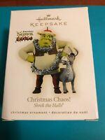 2009 Christmas Chaos Hallmark Ornament Shrek The Halls Donkey Rare