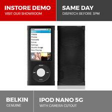 Belkin Silicone Case for Apple iPod Nano 5G 5th Gen Camera Skin Cover Black