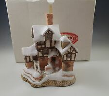 1987 David Winter Special Edition Scrooge'S Counting House