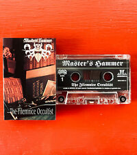 MASTER'S HAMMER on JL America —FILEMNICE OCCULTIST— black metal cassette tape