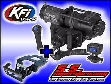 3500 lb KFI Stealth Winch Combo Synthetic Rope Polaris RZR XP900 XP 900 2011-14