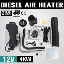 New 4KW Diesel Air Heater  Thermostat Parking Heater 12V for Bus Truck Car