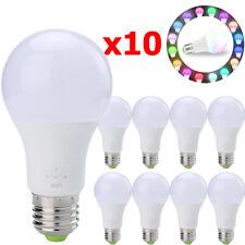 10 Wifi Smart RGB LED Light Bulb Light for Amazon Alexa Google App IOS Android