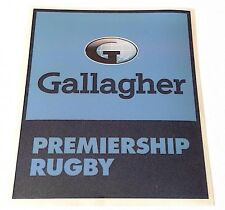 2018-19 English GALLAGHER PREMIERSHIP RUGBY UNION Official PS-PRO Badge Patch