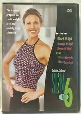 Debbie Siebers Slim in 6 six week program 2Disc DVD set 5 total workouts fitness