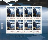 CAPTAIN GEORGE VANCOUVER  = FULL MINISHEET OF HIGH VALUE = Canada 2007 #2219 MNH
