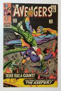 Avengers #31 FN 6.0 Quicksilver & Scarlet Witch Quit!