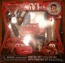 Disney PIXAR Cars 2 Play Shave Set - Hair Gel, Bath Foam, Razor - 692237054361