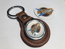 Blake 7 Genuine Leather Keyring &  Blake 7 Cell  Sticker