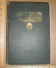 1928 Spencer High School North Carolina NC vintage old Yearbook Rowan County