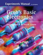 Experiments Manual With Simulation To Accompany Grob's Basic Electronics  NO CD