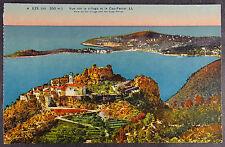 Eze Village Cap-Ferrat France Postcard View -c096