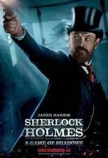 SHERLOCK HOLMES A GAME OF SHADOWS Movie Promo POSTER K Robert Downey Jr.