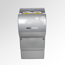 2x Dyson Airblade AB03 Hand Dryers in Silver