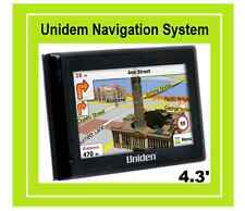 "UNIDEN TRX4310 GPS Car Navigation System 4.3"" Superflat Touchscreen"