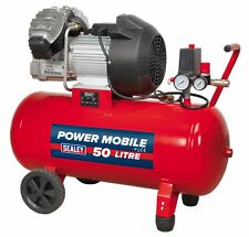 Compressor 50ltr V-Twin Direct Drive 3hp - Sealey - SAC05030