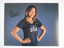 CHLOE KIM SIGNED 11X14 PHOTO 2018 OLYMPICS TEAM USA GOLD METAL DC/COA (PROOF)