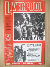 1978 League Division One- LIVERPOOL v ARSENAL