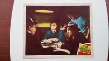 THE ASPHALT JUNGLE 1950 JOHN HUSTON RARE LOBBY CARD#4 ORIGINAL US