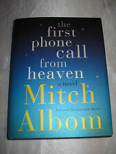 The First Phone Call from Heaven by Mitch Albom SIGNED 1st/1st 2013 HCDJ