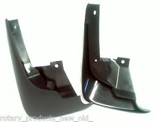 ISUZU DMAX D-MAX 4X2 FRONT PLASTIC MUD FLAPS 2003 - 2007 LEFT & RIGHT HAND PAIR