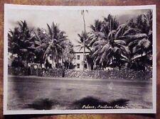 1920's Historic Hulihe'e Palace Royalty Kailua-Kona Territory of Hawaii