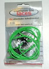 """Elastic Shoe Laces Quick Transition Cord 28"""" Neon Green"""