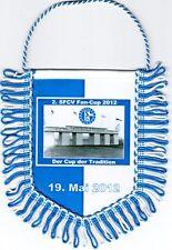 FC Schalke 04 + Wimpel Banner + SFCV + Cup der Tradition + Glückauf Kampfbahn +