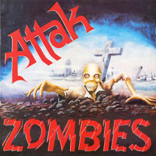 ATTAK Zombies LP . punk rock blitz uk subs gbh the clash adverts adicts oi
