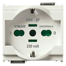VIMAR 16210.B  -  Presa 2P+T 16A universale bianco 2 moduli serie IDEA