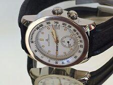 Baume Mercier Mens Formula S stainless watch, 35 mm case, MV 04 f 007