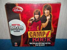 DISNEY - CAMP ROCK - MATTEL DVD GAME - ROCK THE JAM SING THE SONGS! NEW & SEALED