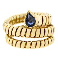 bvlgari sapphire yellow gold fine jewelry