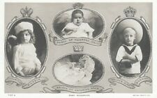 ROYALTY Baby Monarchs RUSSIA Czarewitch Prince ITALY SPAIN & NORWAY RP Rotary