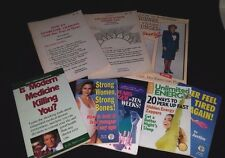 Lot of 8 Mini Paperback Nutrition, Health, Exercise Books