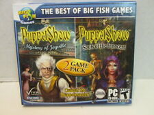 Big Fish Games Puppet Show 2 game pack  PC CD-ROM  game