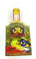 Treasure X Ninja Gold Hunters pack-Will you find real gold dipped treasures? NEW