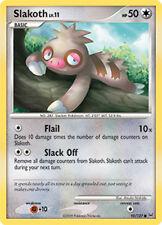 Slakoth Common Pokemon Card Pt1 Platinum 95/127