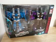 Transformers War for Cybertron Earthrise Skywarp Thundercracker 2-Pack Seeker
