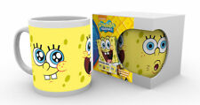 SPONGEBOB SQUAREPANTS EXPRESSIONS MUG GIFT BOXED NEW 100 % OFFICIAL MERCHANDISE