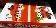 BOUNTY DARK CHOCOLATE FULL BOX OF 24 Twin Bars Fresh Stock
