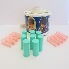 Kenner Easy Curl Hair Setting Toy Girls Styling Salon Hot Rollers Kit 1968