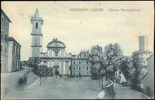 cartolina VEZZANO LIGURE chiesa parrocchiale